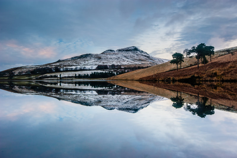 Sunset at Dovestone Reservoir #2, Greater Manchester, North West England