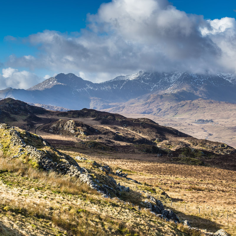 View #2 from Moel Siabod, Snowdonia, North Wales